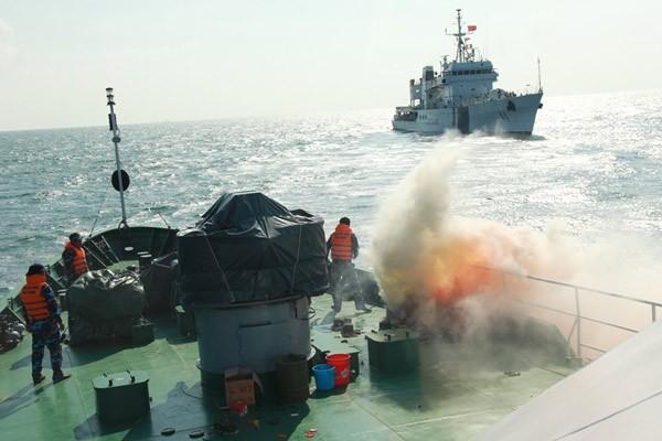 Cảnh sát biển Việt - Ấn huấn luyện chung ảnh 11
