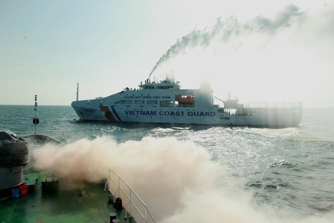 Cảnh sát biển Việt - Ấn huấn luyện chung ảnh 12