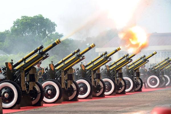 Lực lượng quân đội diễu binh qua lễ đài mừng Quốc khánh 2/9 ảnh 31
