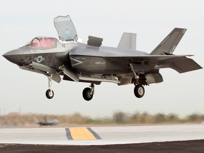 F-35 Lightning II luyện kỹ năng không chiến chống tiêm kích Nga ảnh 6