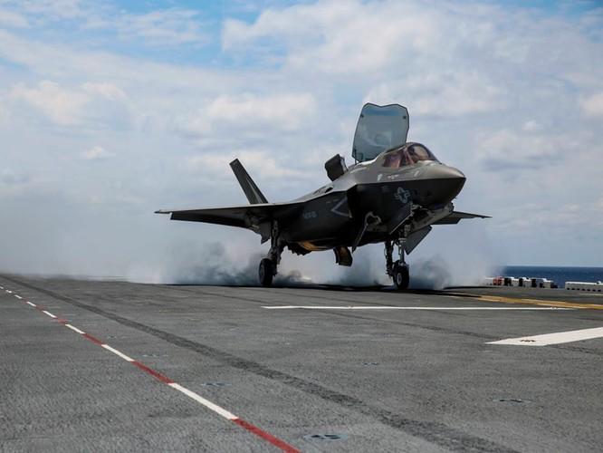 F-35 Lightning II luyện kỹ năng không chiến chống tiêm kích Nga ảnh 12