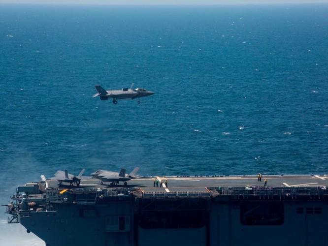 F-35 Lightning II luyện kỹ năng không chiến chống tiêm kích Nga ảnh 18