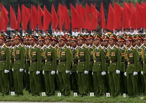 Lực lượng quân đội diễu binh qua lễ đài mừng Quốc khánh 2/9 ảnh 24