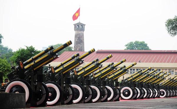 Lực lượng quân đội diễu binh qua lễ đài mừng Quốc khánh 2/9 ảnh 37