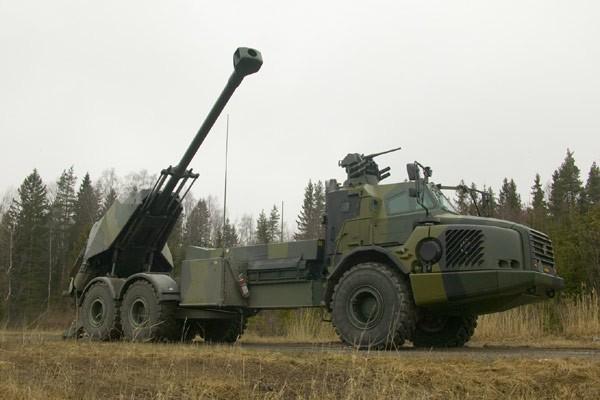 Khám phá uy lực hệ thống lựu pháo BAE - 155mm Archer Thụy Điển ảnh 1