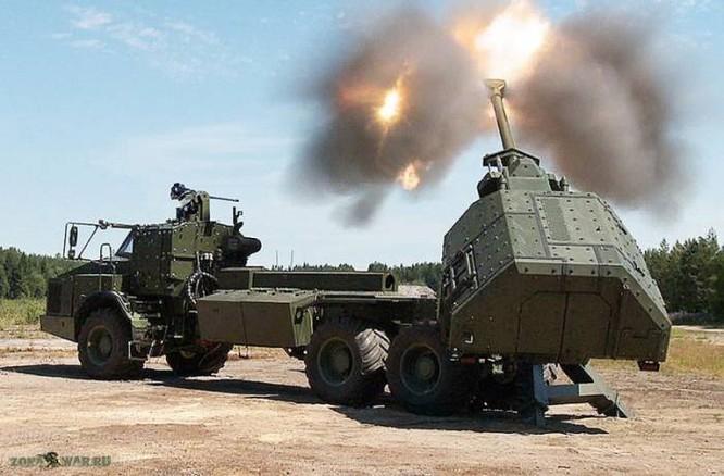 Khám phá uy lực hệ thống lựu pháo BAE - 155mm Archer Thụy Điển ảnh 4