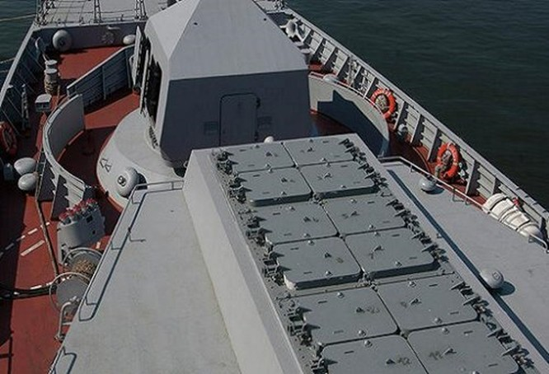 Chùm ảnh mãn nhãn về tàu hộ tống hiện đại nhất của Nga ảnh 4
