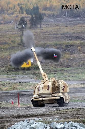"""Nga nâng cấp pháo tự hành thế hệ cũ """"Akatsiya"""" bằng trí tuệ nhân tạo ảnh 1"""