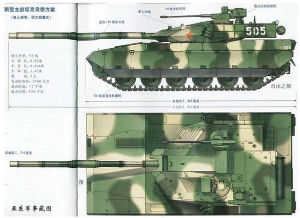 """Sự thật xe tăng chủ lực """"mạnh nhất thế giới"""" của Trung Quốc (P1) ảnh 2"""