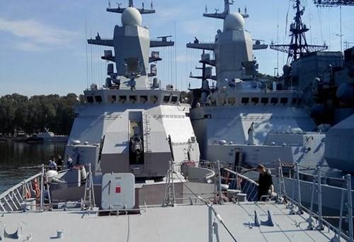 Chùm ảnh mãn nhãn về tàu hộ tống hiện đại nhất của Nga ảnh 2