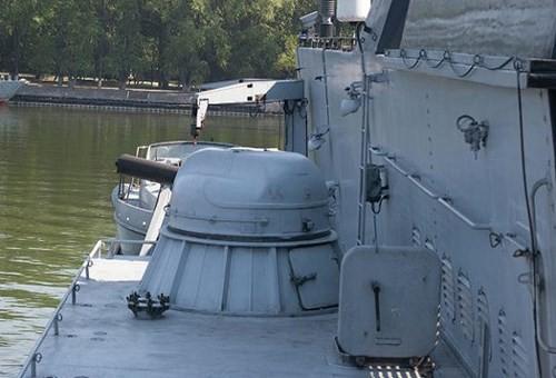 Chùm ảnh mãn nhãn về tàu hộ tống hiện đại nhất của Nga ảnh 6