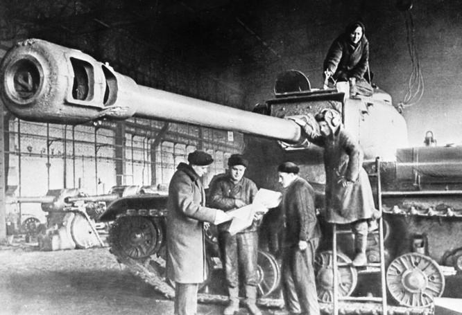 Lịch sử chế tạo xe tăng Nga qua ảnh ảnh 5