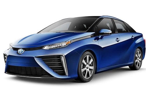 Mirai dòng xe thân thiện với môi trường đến từ… tương lai ảnh 1