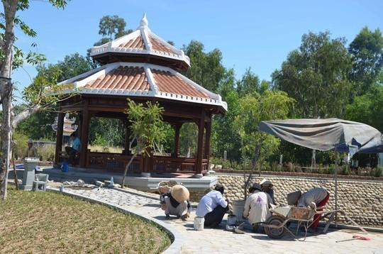Ngắm khu lưu niệm ông Nguyễn Bá Thanh trước giờ mở cửa ảnh 5