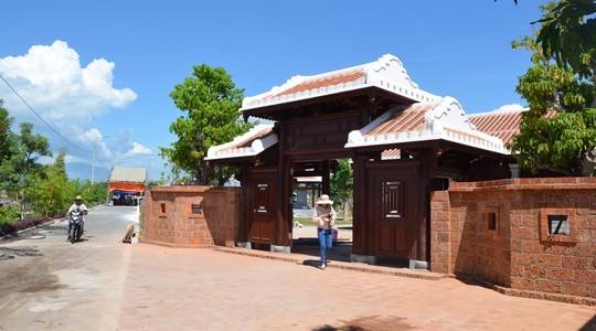 Ngắm khu lưu niệm ông Nguyễn Bá Thanh trước giờ mở cửa ảnh 1