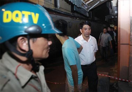 Nổ lớn ở trung tâm Hà Nội, một người tử vong ảnh 2