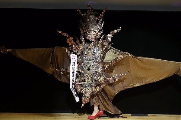"""Chiêm ngưỡng nhan sắc tuyệt vời của """"Hoa hậu Hoàn vũ"""" - cô gái của bộ lạc Indian ảnh 11"""