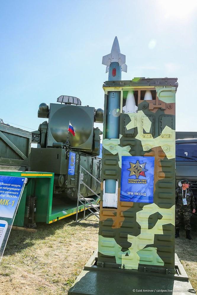 Choáng ngợp vũ khí phòng không khủng mới trình làng tại MAXS-2015 ảnh 11