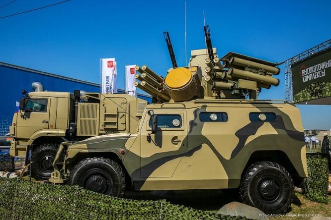 Choáng ngợp vũ khí phòng không khủng mới trình làng tại MAXS-2015 ảnh 41