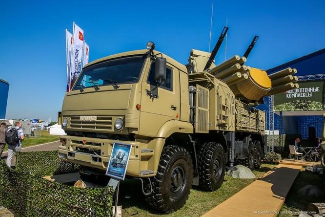 Choáng ngợp vũ khí phòng không khủng mới trình làng tại MAXS-2015 ảnh 42