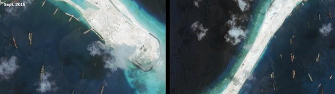 Trước khi Tập Cận Bình thăm Mỹ, Trung Quốc xây đường băng thứ ba ở Biển Đông ảnh 2