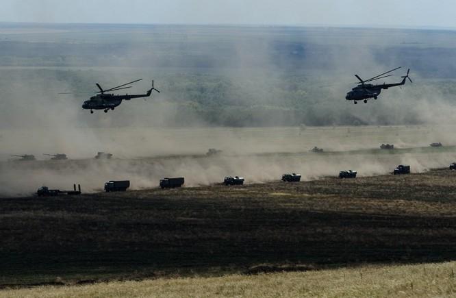 Hệ thống vũ khí tham gia cuộc tập trận lớn nhất năm của Nga ảnh 1