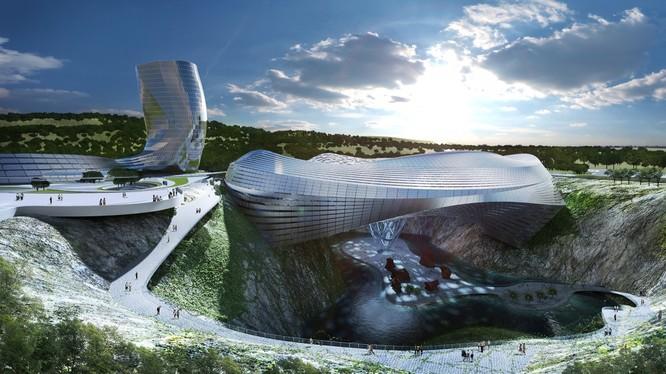 Những công trình xây dựng siêu tưởng và điên rồ nhất thế giới ảnh 9