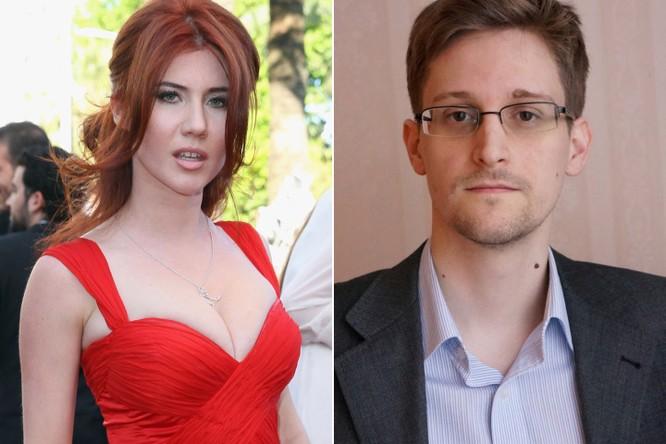 Điệp viên sexy nhất của Nga từng dụ dỗ Snowden đã làm mẹ ảnh 1