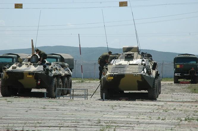 Đột nhập lữ đoàn Bộ binh cơ giới số 18 quân đội Nga ảnh 8