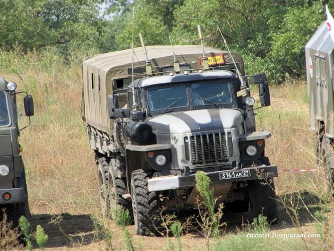 Đột nhập lữ đoàn Bộ binh cơ giới số 18 quân đội Nga ảnh 14