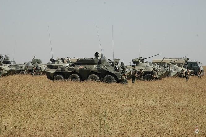 Đột nhập lữ đoàn Bộ binh cơ giới số 18 quân đội Nga ảnh 17