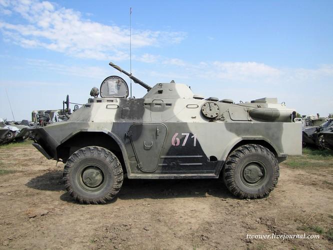 Đột nhập lữ đoàn Bộ binh cơ giới số 18 quân đội Nga ảnh 60