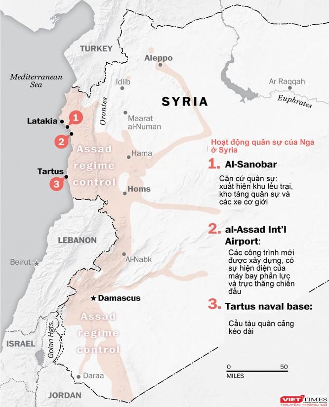 Mỹ công bố hình ảnh mới về Nga đổ xe tăng, chiến đấu cơ tới Syria ảnh 3