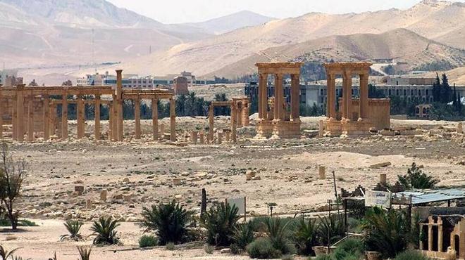 Có vũ khí hiện đại, quân đội Syria quyết thu hồi lại Palmyra ảnh 1