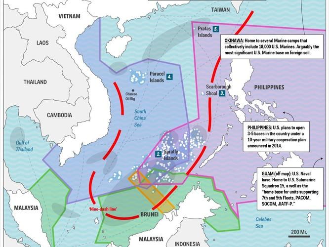 Chuyên gia Mỹ: Biển Đông sẽ là chiến trường quyết định thế kỷ 21 ảnh 2