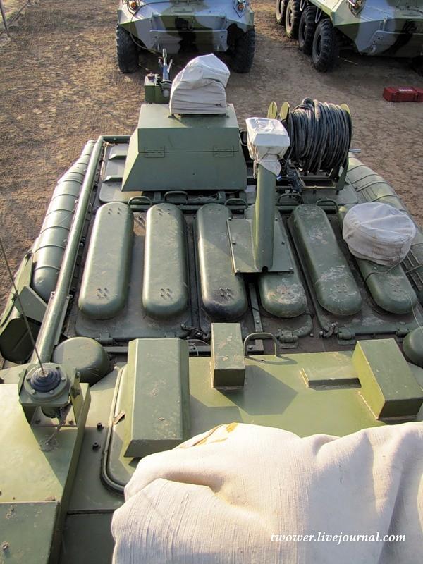 Đột nhập ngày kỹ thuật lữ đoàn bộ binh cơ giới số 20 Nga ảnh 66