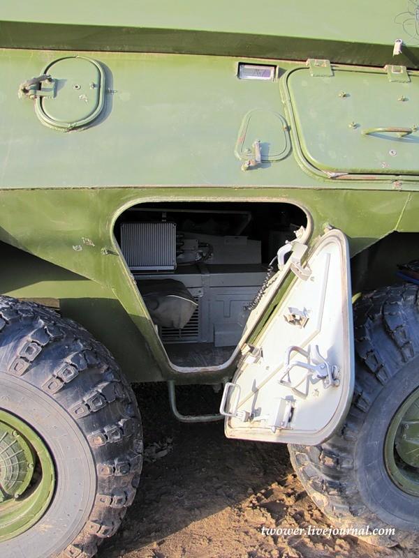 Đột nhập ngày kỹ thuật lữ đoàn bộ binh cơ giới số 20 Nga ảnh 70