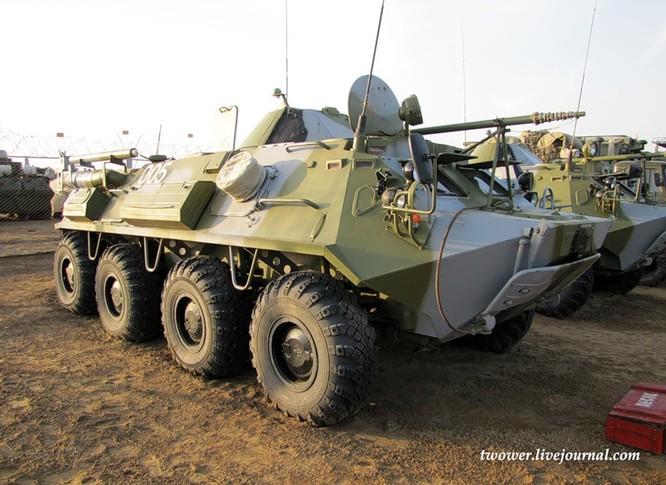 Đột nhập ngày kỹ thuật lữ đoàn bộ binh cơ giới số 20 Nga ảnh 78
