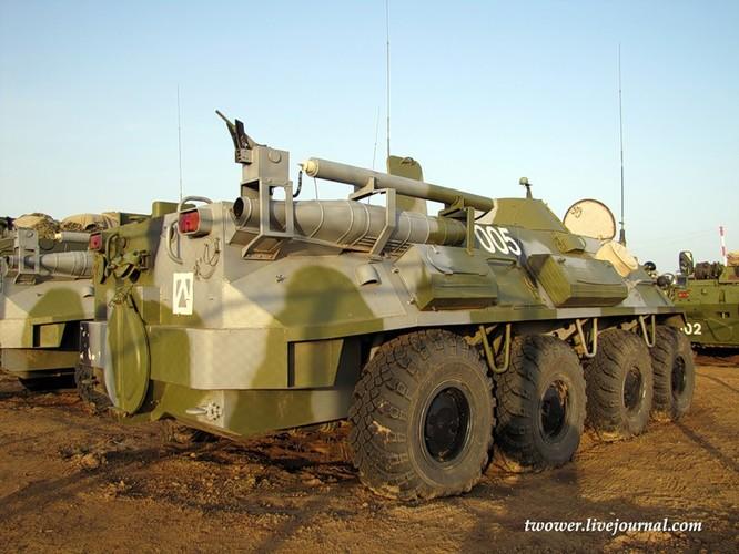 Đột nhập ngày kỹ thuật lữ đoàn bộ binh cơ giới số 20 Nga ảnh 79