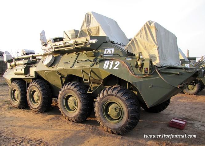 Đột nhập ngày kỹ thuật lữ đoàn bộ binh cơ giới số 20 Nga ảnh 86