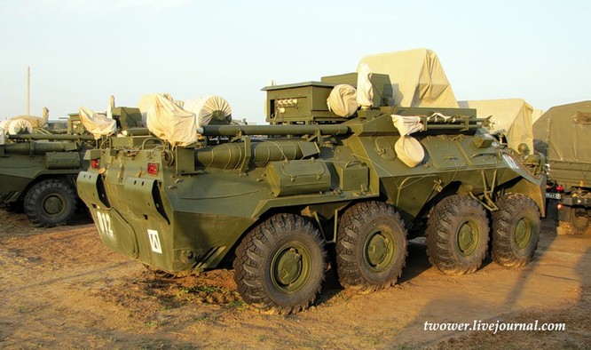 Đột nhập ngày kỹ thuật lữ đoàn bộ binh cơ giới số 20 Nga ảnh 87