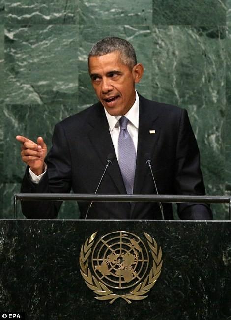 Ông Obamam gay gắt về vấn đề Syria