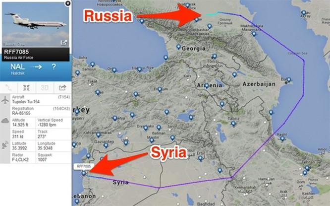 """Nóng: Nga lần đầu tiên điều """"Thú mỏ vịt"""" Su-34 đến Syria ảnh 2"""