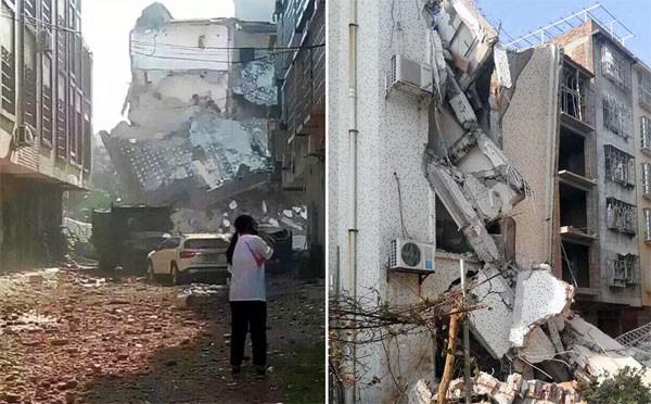 Bom nổ liên tiếp 17 địa điểm tại Trung Quốc, nhiều tòa nhà sập ảnh 17
