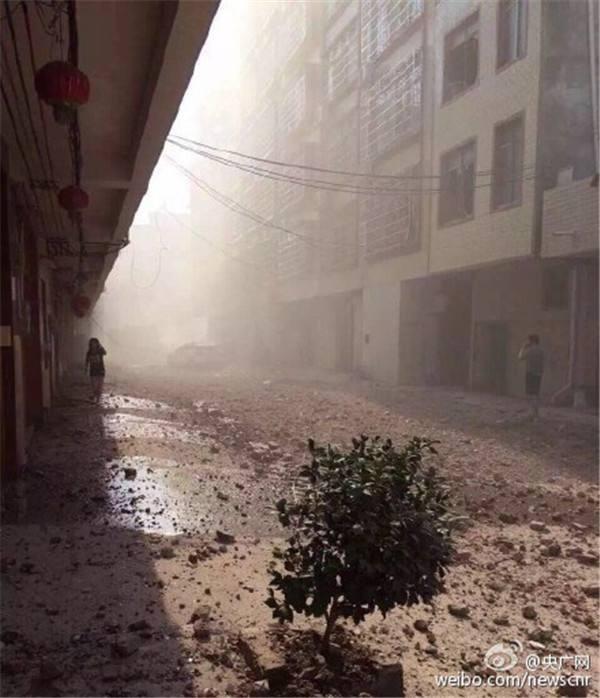 Bom nổ liên tiếp 17 địa điểm tại Trung Quốc, nhiều tòa nhà sập ảnh 7