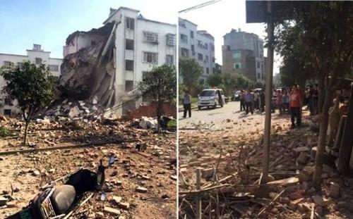 Bom nổ liên tiếp 17 địa điểm tại Trung Quốc, nhiều tòa nhà sập ảnh 20