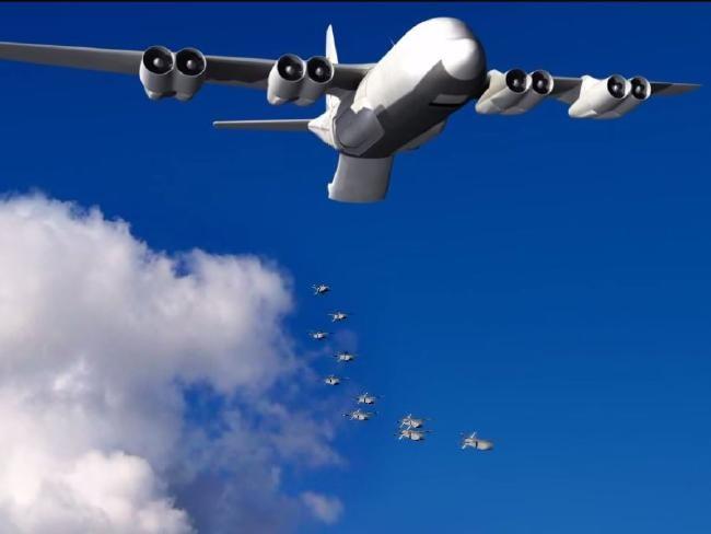 Tiêm kích có thể mang theo một bầy drones ảnh 2