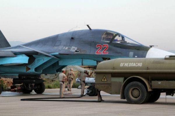 Không quân Nga tiếp tục dội lửa vào khủng bố ở Syria ảnh 1