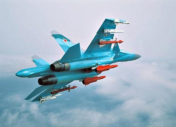"""Sức mạnh đáng sợ của tiêm kích """"Thú mỏ vịt"""" Su-34 Nga ảnh 4"""