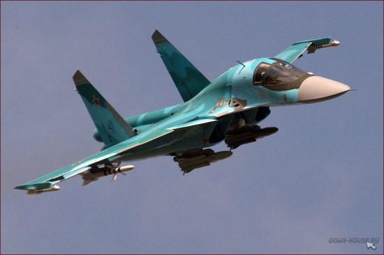 """Sức mạnh đáng sợ của tiêm kích """"Thú mỏ vịt"""" Su-34 Nga ảnh 5"""